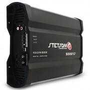 Modulo Amplificador Stetsom 5000 Rms Vulcan 5000 Mono Digital 1 Canal 1 Ohm 2 Ohms Classe D Bass Boost