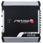 Modulo Amplificador Stetsom 900 Rms HL-800.4 High Line Stereo Digital 4 Canais 1 Ohm 2 Ohms Classe D Full Range