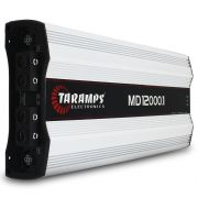 Modulo Amplificador Taramps 12000 Rms MD-12000.1 Mono Digital 1 Canal 1 Ohm Classe D Bass Boost Full Range