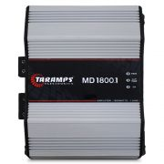 Modulo Amplificador Taramps 1800 Rms MD-1800.1 Mono Digital 1 Canal 1 Ohm 2 Ohms 4 Ohms Classe D Bass Boost