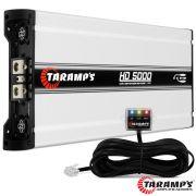 Módulo Taramps 5000 rms Hd-5000 1 Canal Digital 1 e 2 Ohm