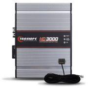 Modulo Amplificador Taramps 3000 Rms HD-3000 Mono Digital 1 Canal 1 Ohm 2 Ohms 4 Ohms Bass Boost Full Range