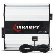 Modulo Amplificador Taramps 3000 Rms SMART-3 Mono Digital 1 Canal 1 Ohm 2 Ohms Classe D Crossover Full Range Led Clip