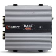 Modulo Amplificador Taramps 400 Rms BASS-400 Mono Digital 1 Canal 2 Ohms Classe D Fio Bass Boost Crossover