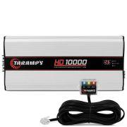 Modulo Amplificador Taramps 1 canal Hd-10000  wrms 1 Ohms Digital
