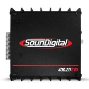 Módulo Soundigital 400 Rms SD-400.2D Evo 2 Stereo Digital