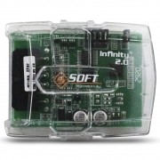 Modulo Subida Vidro Elétrico 4 Portas Universal Soft Infinity 2.0 Antiesmagamento Teto Solar Cortina