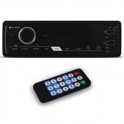 Mp3 Player Automotivo E-Tech Premium Bluetooth Usb Sd Aux Rádio Fm Rca Equalizador