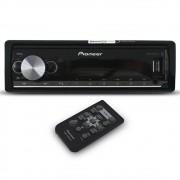 Mp3 Player Automotivo Pioneer MVH-X3000BR Bluetooth Usb Comando Som Volante Frente Destacável Smart Sync Flashing Light