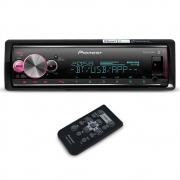 Mp3 Player Automotivo Pioneer MVH-X7000BR Bluetooth Espelhamento Comando Som Volante Smart Sync Flashing Light