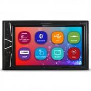 Mp5 Player Automotivo 2 Din 6.2 Polegadas Pioneer DMH-G228BT Bluetooth Espelhamento Android Usb Comando Som Volante Aux
