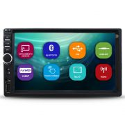 Mp5 Player Automotivo 2 Din 7 Polegadas First Option Bluetooth Usb Espelhamento Android Usb Aux Fm