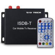 Receptor Tv Digital Automotivo Tay Tech Universal Conversor Full Hd Full Seg