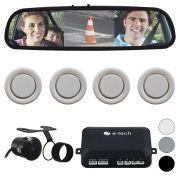 Sensor Estacionamento Camera Ré Espelho Retrovisor E-Tech
