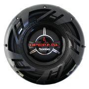 Subwoofer 10 Polegadas Bomber 350w Rms Upgrade 4 Ohms Bobina Simples 700w Pico Peça