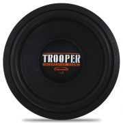 Subwoofer 12 Polegadas Triton 550w Rms TRSW-Trooper Laranja 4 Ohms Bobina Simples Sub Grave 1100w Pico Peça