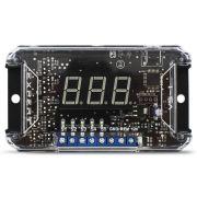 Voltímetro Expert Digital Automotivo VS-1 Mede Tensão 8v a 16,5v Sequenciador Acionamento Remoto Compacto