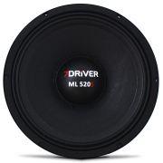 Woofer 10 polegadas 7 Driver 520 Rms 10-ML520S 1040w Pico