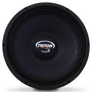 Woofer 10 Polegadas Triton 300w Rms PRO 10-SLX600 4 Ohms 8 Ohms Bobina Simples Grave 600w Pico Full Range Peça