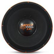 Woofer 15 Polegadas Triton 1800w Rms Shiver Bass Laranja 4 Ohms Bobina Simples Grave Sub Grave 3600w Pico Peça
