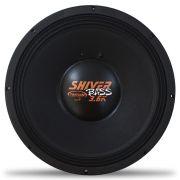 Woofer 15 Polegadas Triton 1800w Rms TR-Shiver Bass 3.6 4 Ohms Bobina Simples Sub Grave 3600w Pico Peça