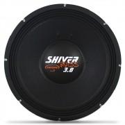 Woofer 15 Polegadas Triton 1900w Rms Shiver Bass 3.8 Branco 4 Ohms Bobina Simples Sub Grave 3800w Pico Peça