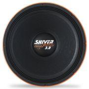 Woofer 18 Polegadas Triton 1900w Rms Shiver Bass 3.8 Laranja 4 Ohms Bobina Simples Sub Grave 3800w Pico Peça