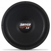 Woofer 18 Polegadas Triton 1900w Rms Shiver Bass 3.8 Preto 4 Ohms Bobina Simples Sub Grave 3800w Pico Peça