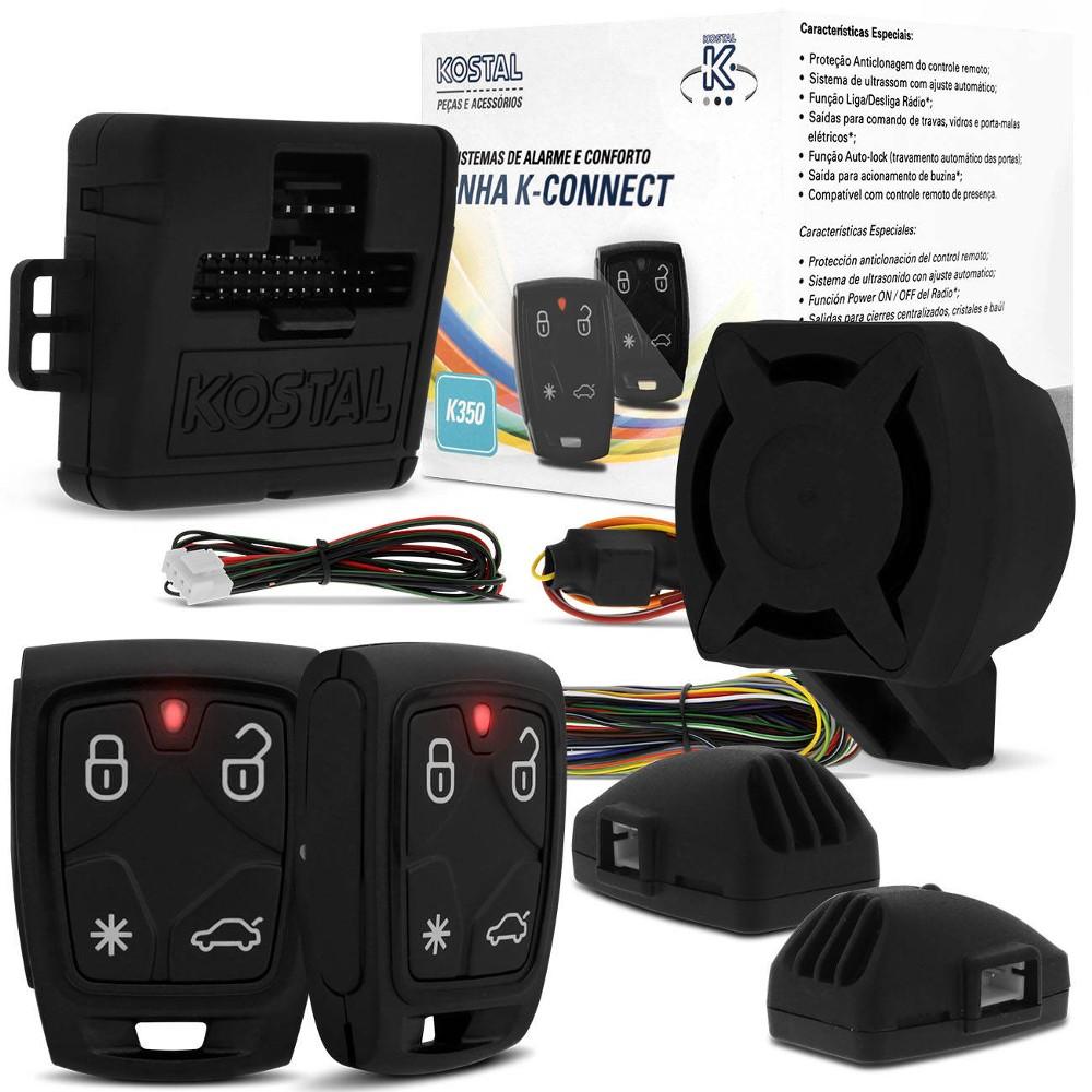 Alarme Automotivo Kostal K350 k-Connect Bloqueio Incorporado
