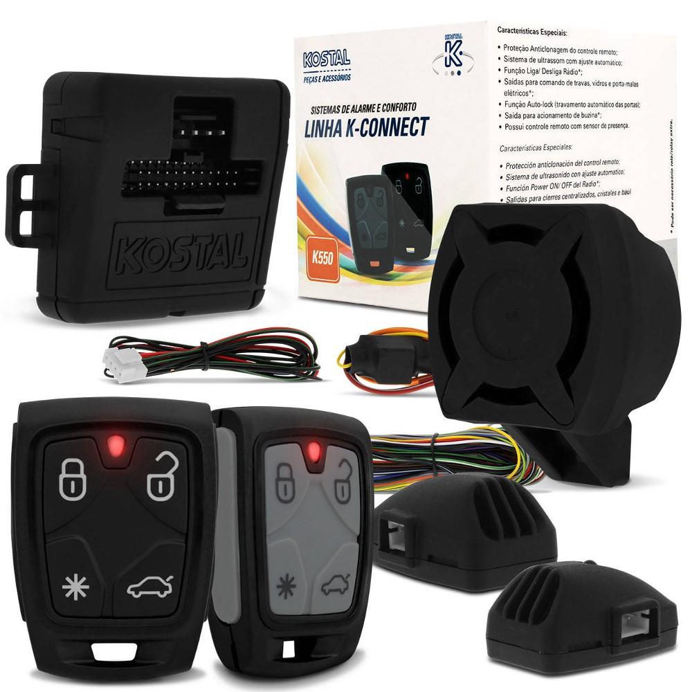 Alarme Automotivo Kostal K550 k-Connect Controle Presença