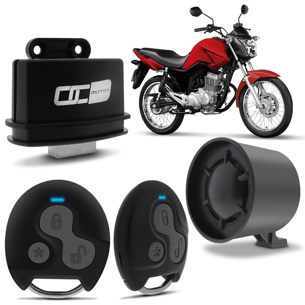 Alarme Automotivo Moto Olimpus Br111 Moto X Bloqueio Presença