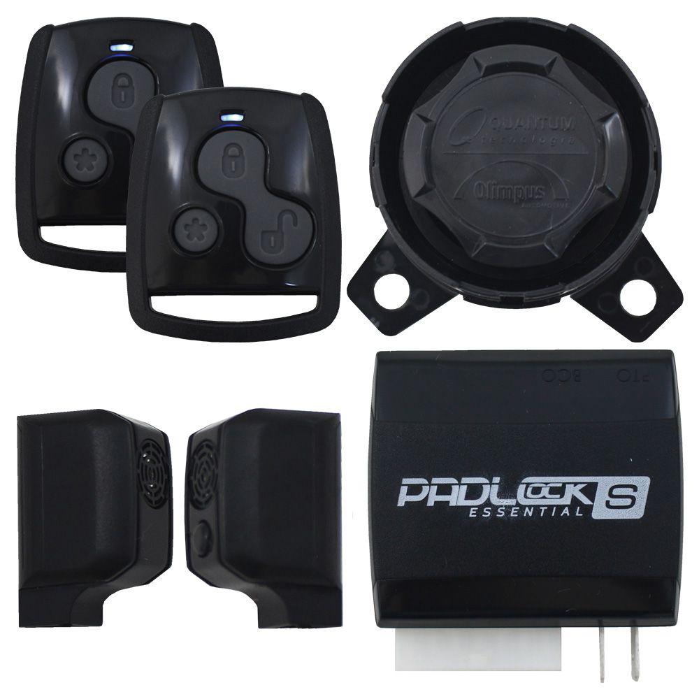 Alarme Automotivo Olimpus Dual Tech S Universal Controle Presença Sirene Dedicada Sensor Ultrassom Bloqueador Veicular
