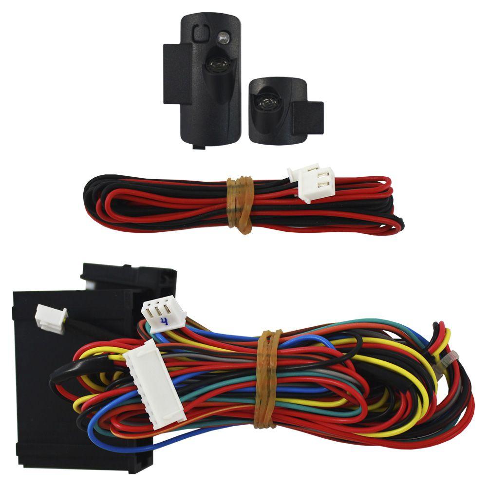 Alarme Automotivo Olimpus Keyless March Versa Padlock Fast Connection Original Sensor Ultrassom Plug & Play