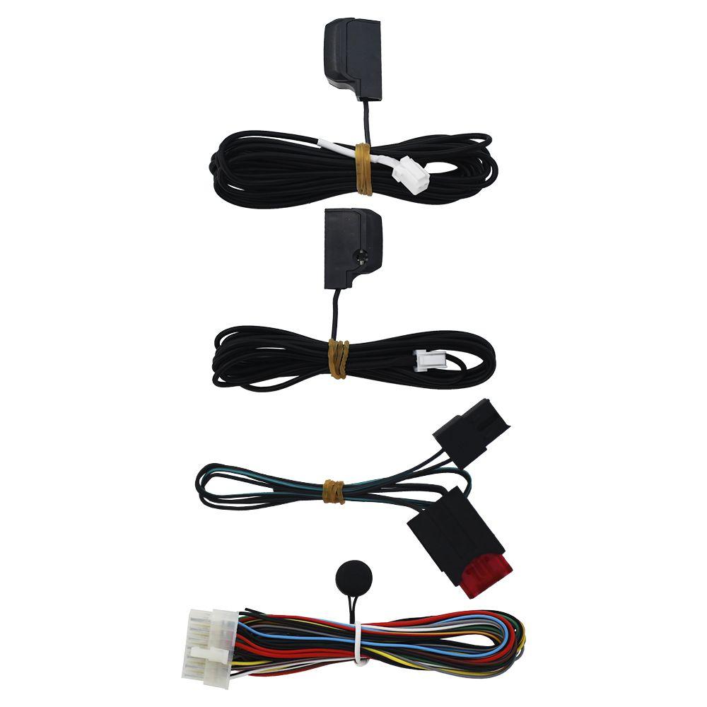 Alarme Automotivo Olimpus Keyless Universal Padlock S Sirene Dedicada Sensor Ultrassom Comando Controle Original