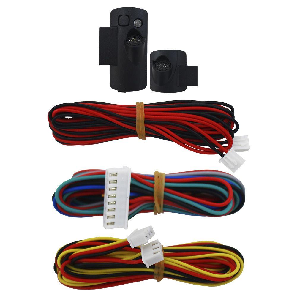 Alarme Automotivo Olimpus Keyless Universal Upgrade-S Sensor Ultrassom Comando Controle Original Saída Aux VW Fiat