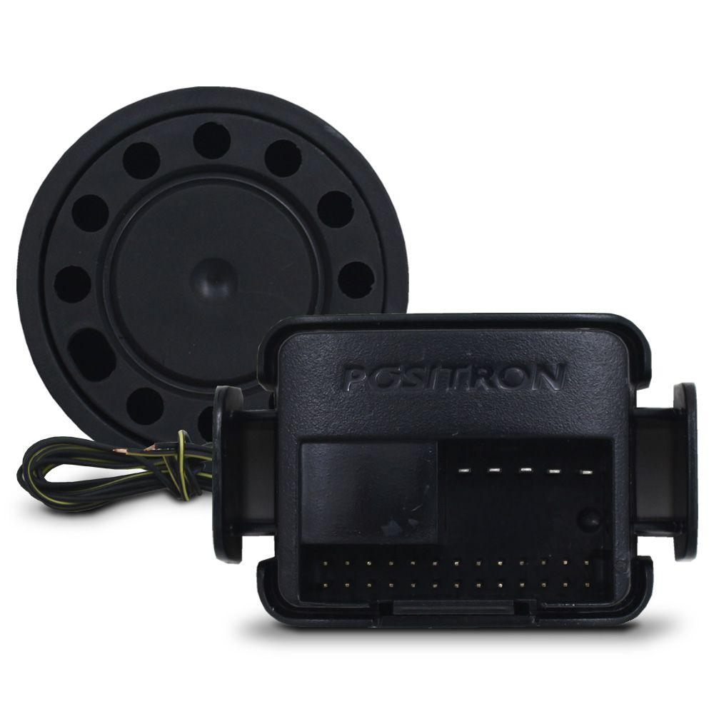 Alarme Automotivo Positron Cyber PX-360BT Universal Bluetooth Controle Presença Sirene Dedicada Comando Smartphone