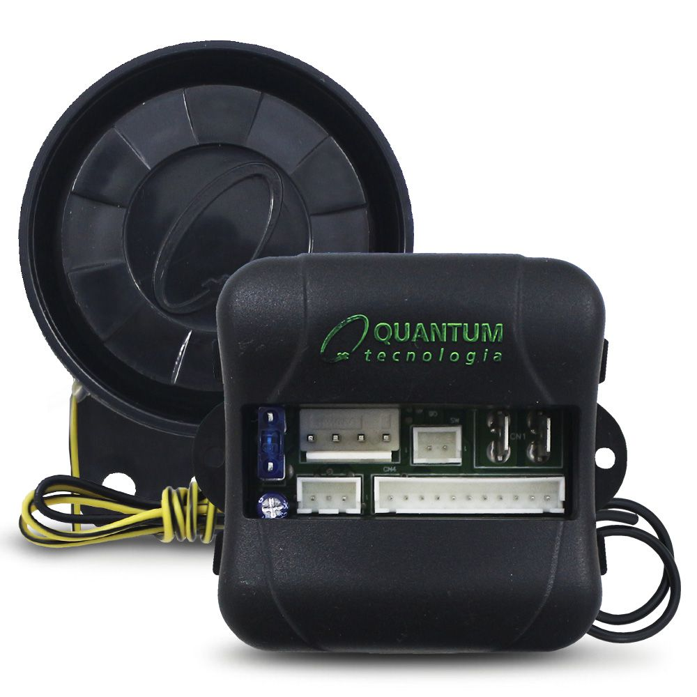 Alarme Automotivo Quantum Universal Comanda Vidro e Trava