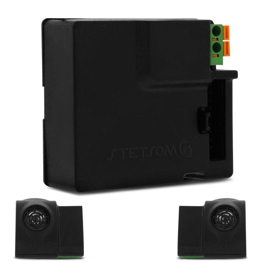 Alarme Automotivo Stetsom ELT Plus Universal Evolution Controle Presença Chave Canivete Sirene Dedicada Sensor Ultrassom