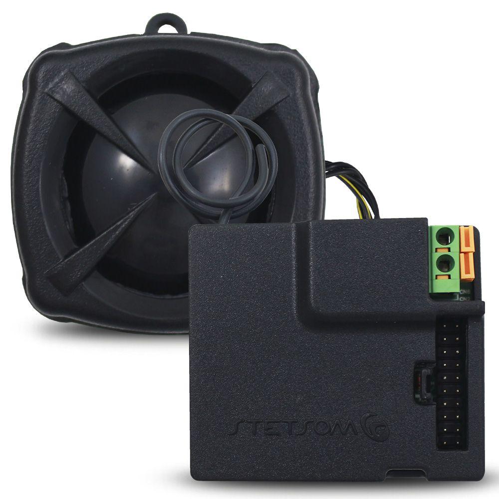 Alarme Automotivo Stetsom EVX Top Universal Evolution Controle Remoto Bloqueador Sirene Dedicada Sensor Ultrassom
