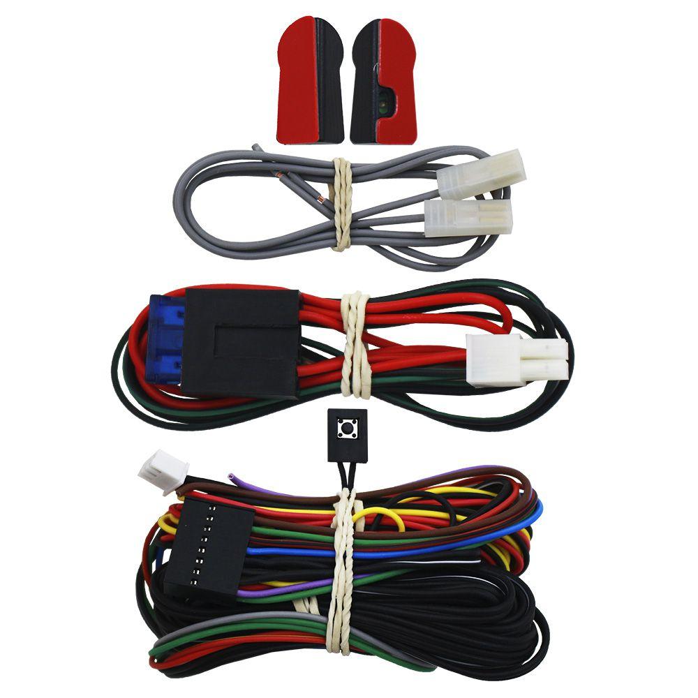 Alarme Automotivo Taramps TW-20 G3 Universal Bloqueador Controle Remoto Sirene Dedicada Sensor Ultrassom
