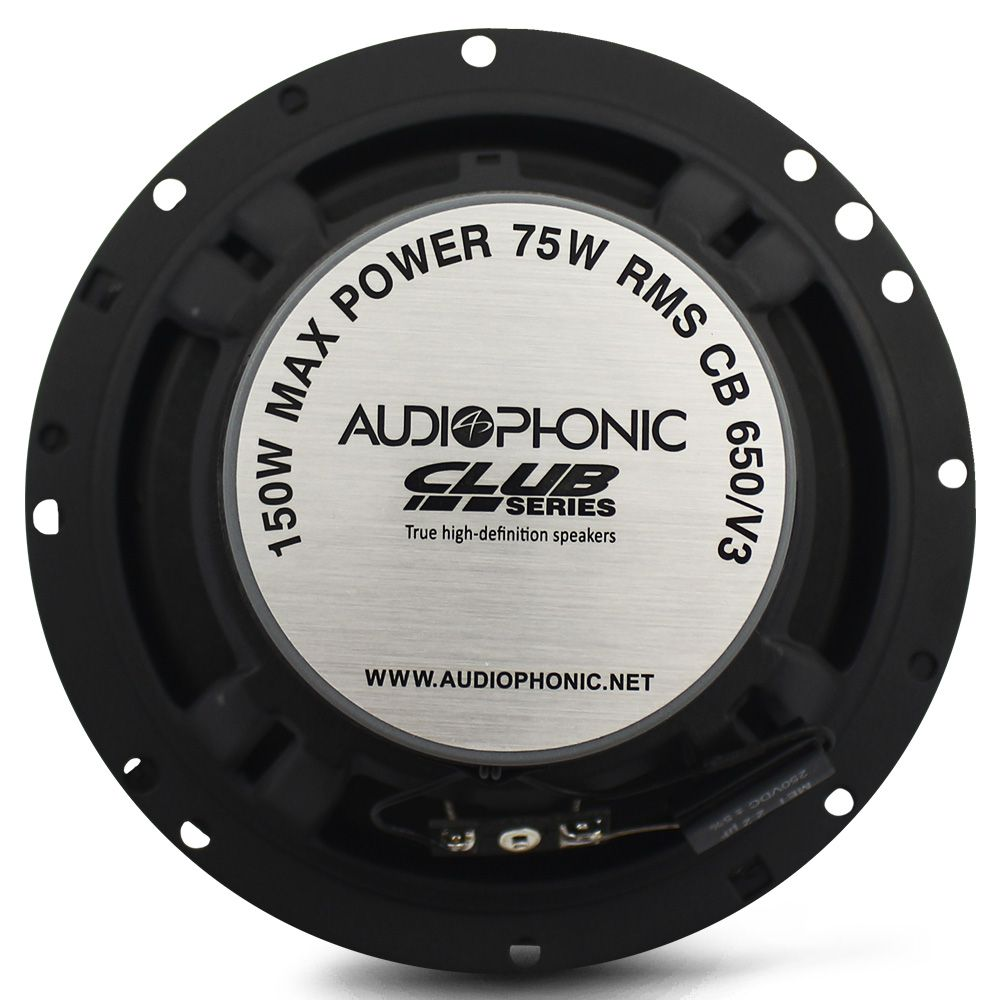 Alto Falante 6 Pol Audiophonic 150 Rms CB-650.V3 Coaxial