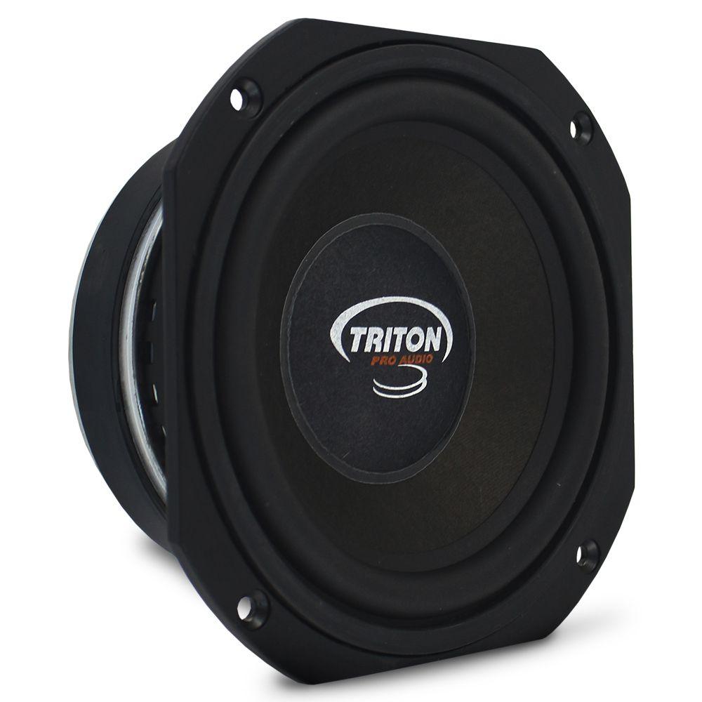 Alto Falante 6 Polegadas Triton 200w Rms 6MBL-400 Mid Bass 8 Ohms Bobina Simples Médio Grave Peça