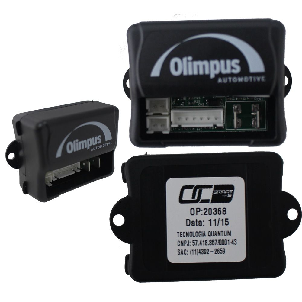 Bloqueador Automotivo Veicular Olimpus Smart S Sirene