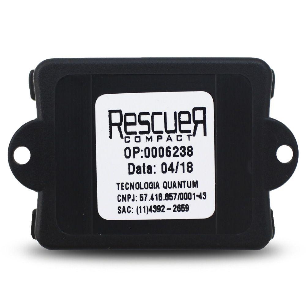 Bloqueador Automotivo Veicular Quantum Rescuer Compact Universal Anti Furto Botão Secreto