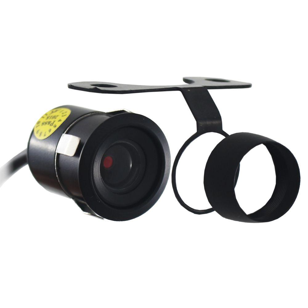 Camera de Ré Estacionamento Automotiva Tay Tech Universal Encaixe Borboleta Parachoque Colorida Resistente a Água Linha