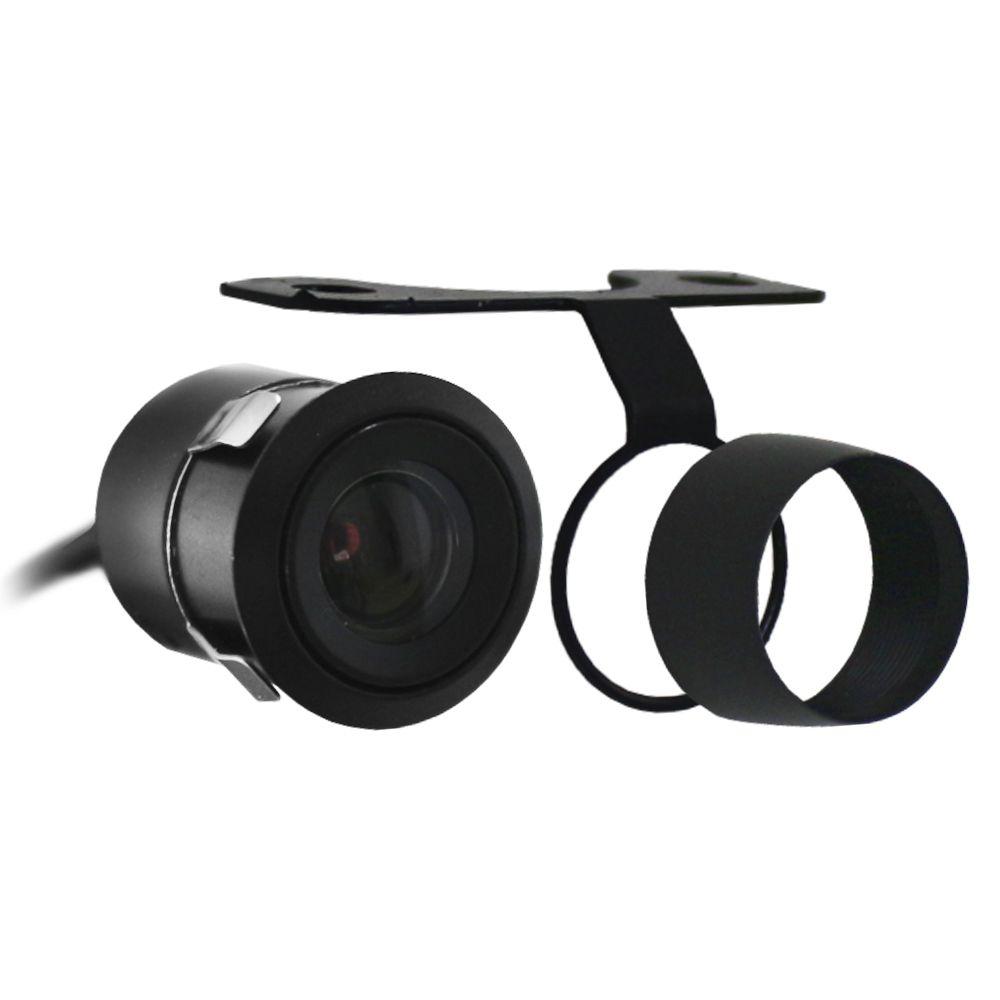 Camera Dianteira Estacionamento Automotiva E-Tech Universal Encaixe Borboleta Parachoque Resistente Água Inversão Imagem