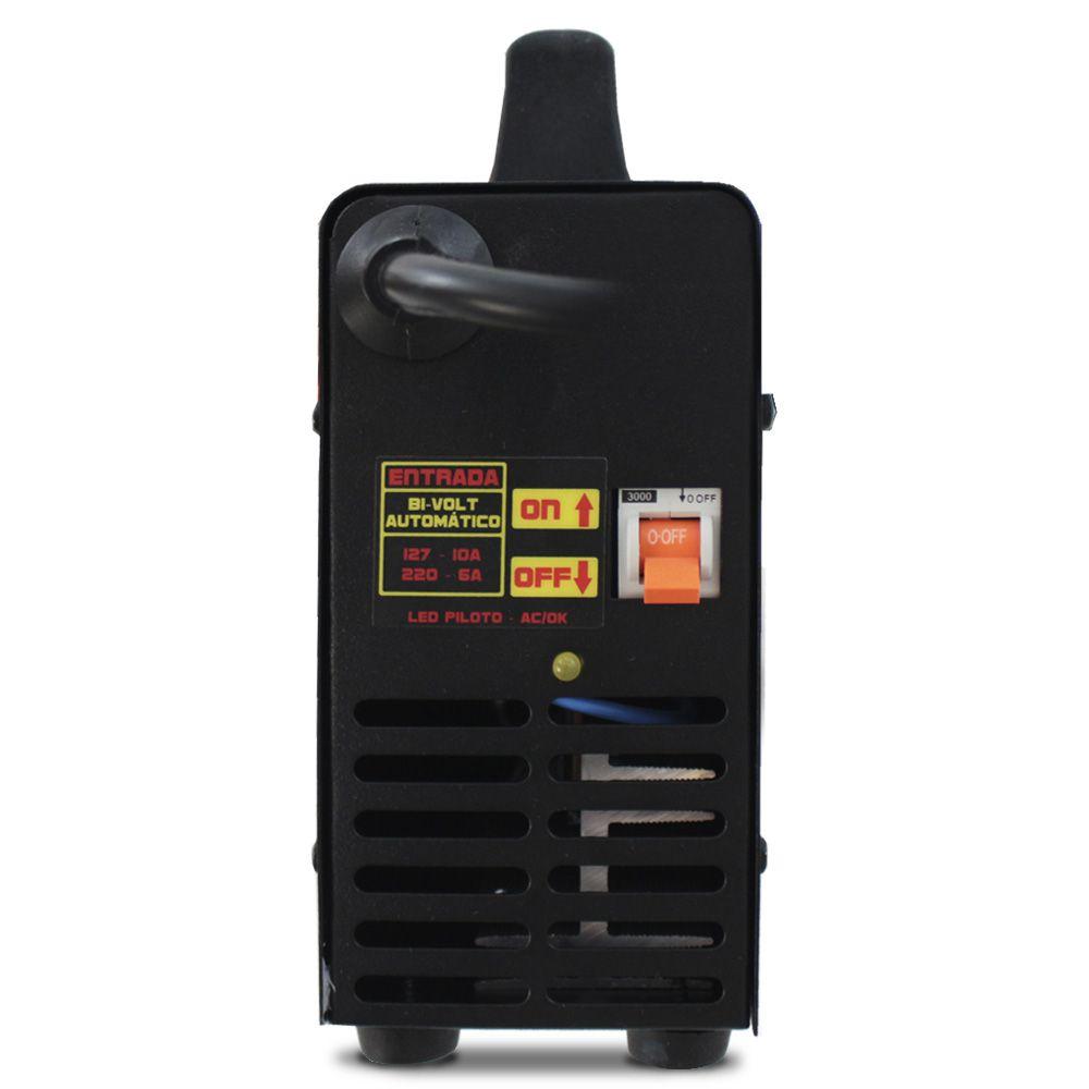 Carregador Bateria Automotiva usina 60-a Bivolt Digital 12v Charger Voltímetro Amperímetro Auxiliar Partida
