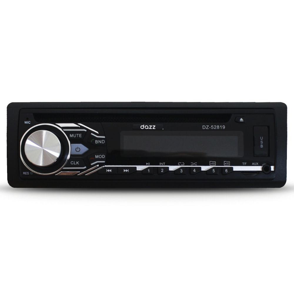 Cd Player Automotivo Dazz DZ-52819 Bluetooth Usb Fm Som