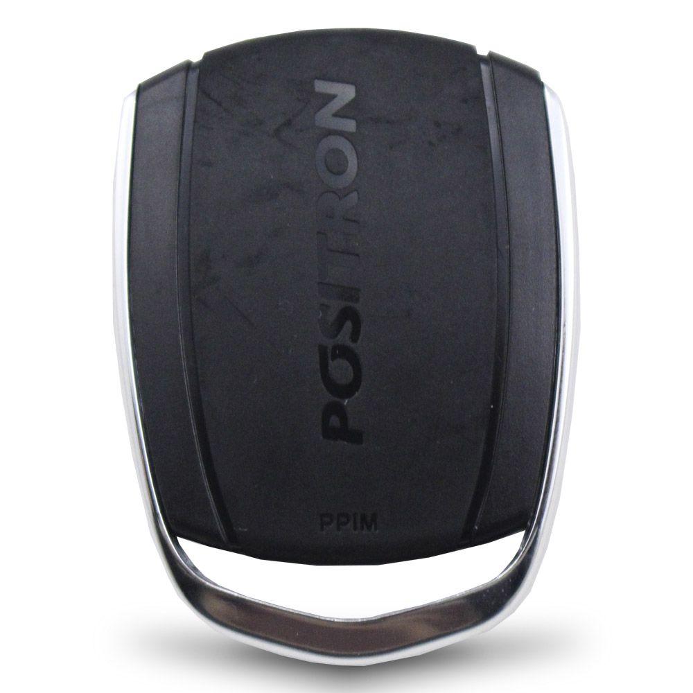 Controle Remoto Alarme Positron PXN74 4 Botões Led Vermelho EX FX PX TX DuoBlock G6 G7 G8