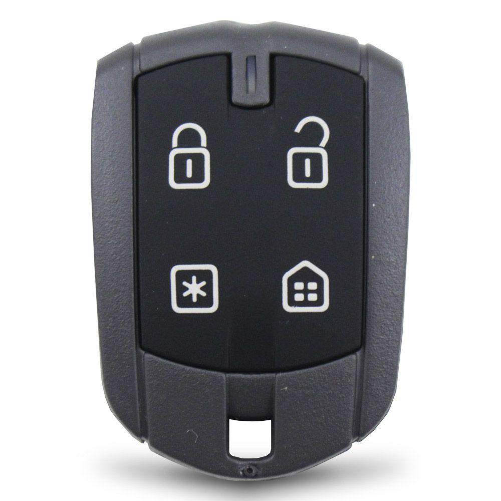 Controle Remoto Presença Alarme Positron DPN62 4 Botões Led Vermelho EX FX PX TX DuoBlock G6 G7 G8